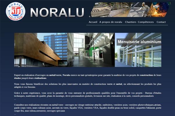 Site Internet : Noralu