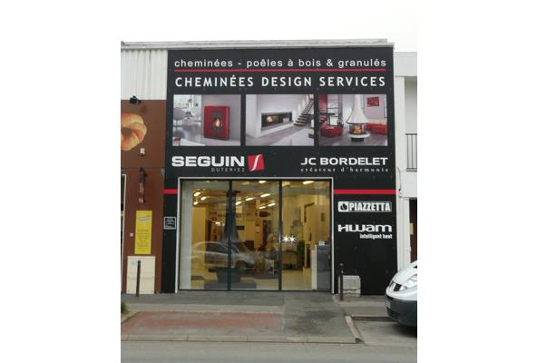 Enseigne : Cheminées Design Services