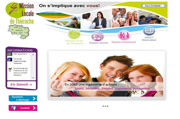 Site Internet : Mission Locale de Thiérache